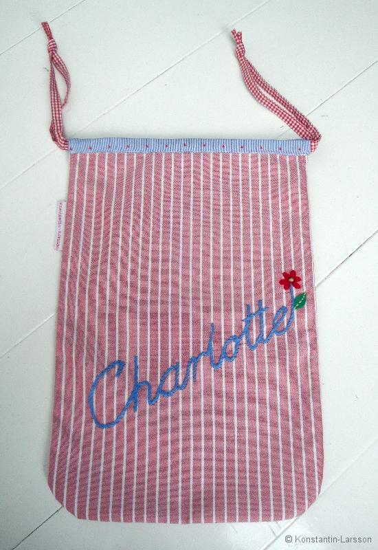 Charlotte shoe-bag