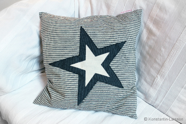 C, striped, big star melange, offwhite
