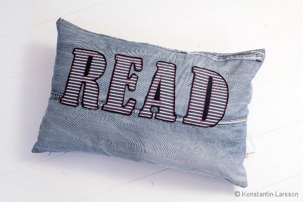 C, jeans READ navy, striped