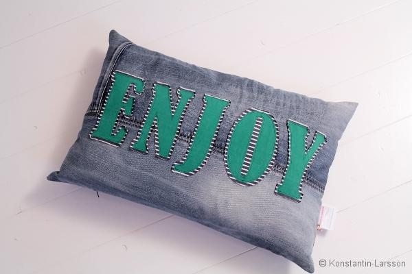 C, jeans ENJOY striped, green