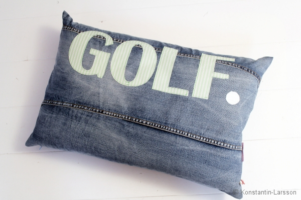 C, jeans GOLF spriped-lightgreen-white