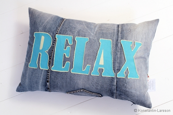 C, jeans RELAX lime, turquoise
