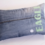 C, jeans EAGLE lightgreen