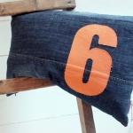 C, jeans 6, orange