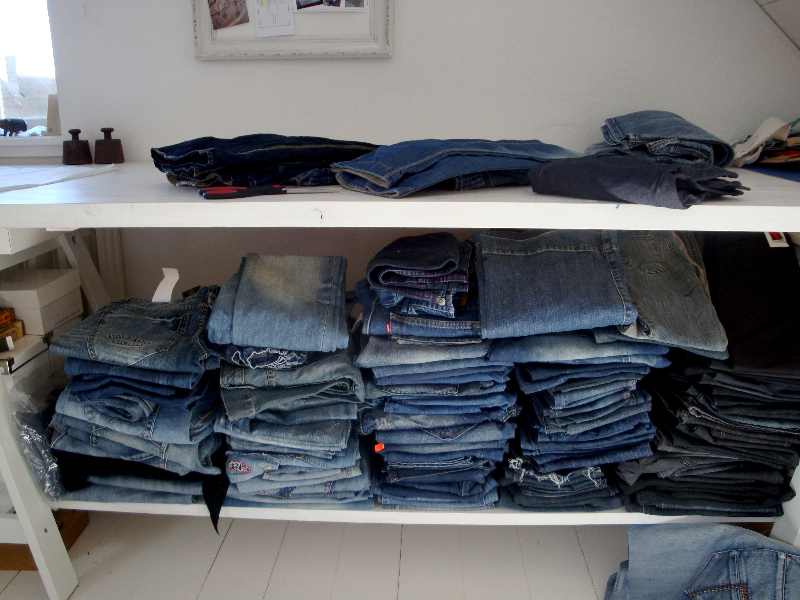 part of my Jeans stock